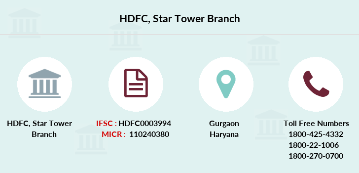 Hdfc-bank Star-tower branch