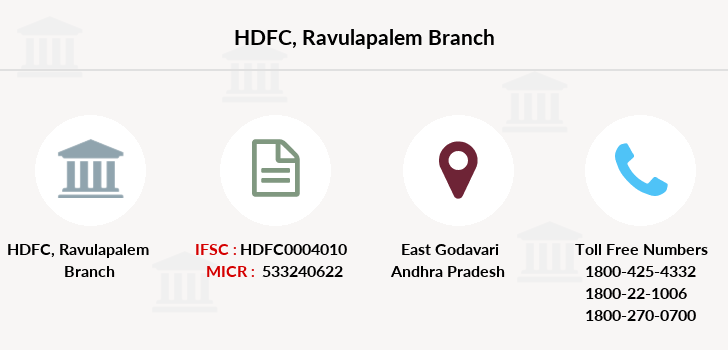 Hdfc-bank Ravulapalem branch