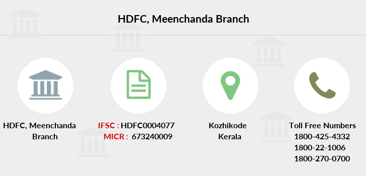 Hdfc-bank Meenchanda branch