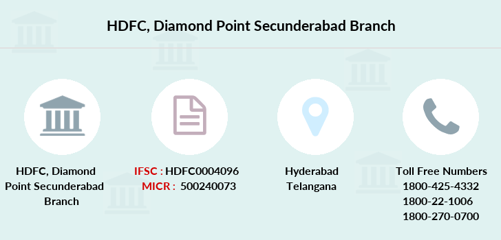 Hdfc-bank Diamond-point-secunderabad branch
