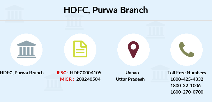 Hdfc-bank Purwa branch