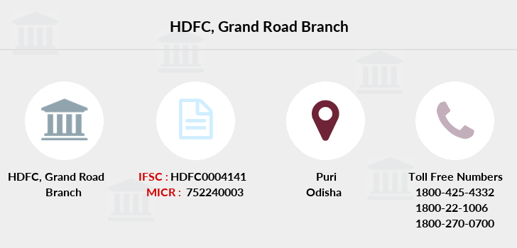 Hdfc-bank Grand-road branch