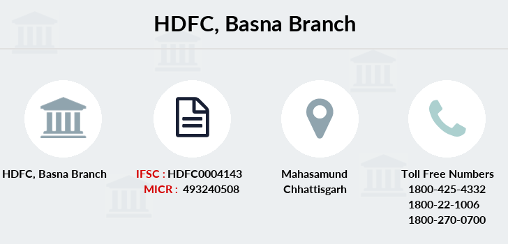 Hdfc-bank Basna branch