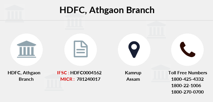 Hdfc-bank Athgaon branch
