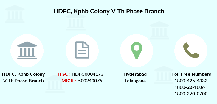 Hdfc-bank Kphb-colony-v-th-phase branch