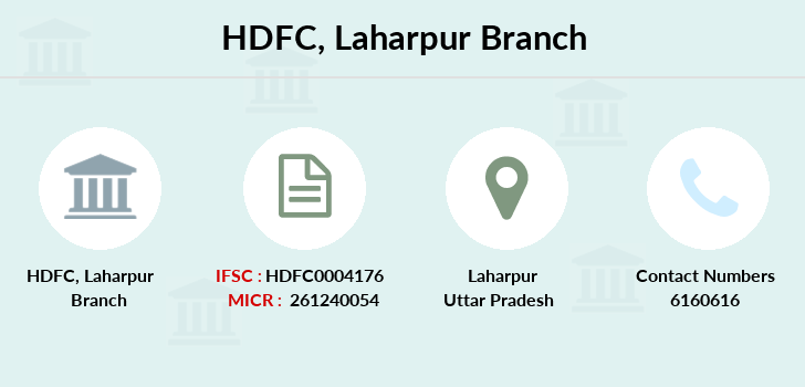 Hdfc-bank Laharpur branch