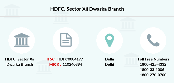 Hdfc-bank Sector-xii-dwarka branch