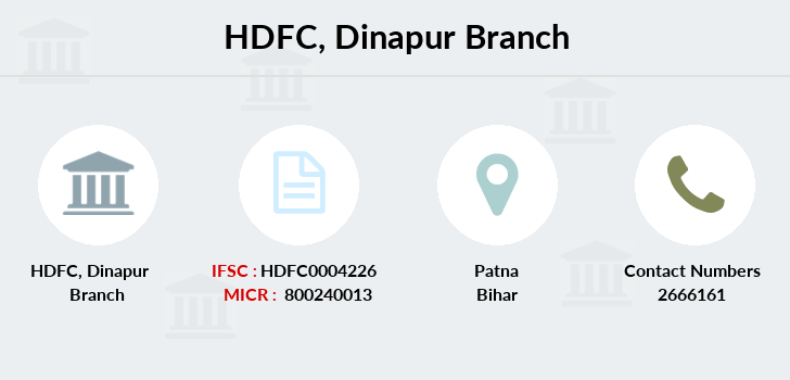 Hdfc-bank Dinapur branch