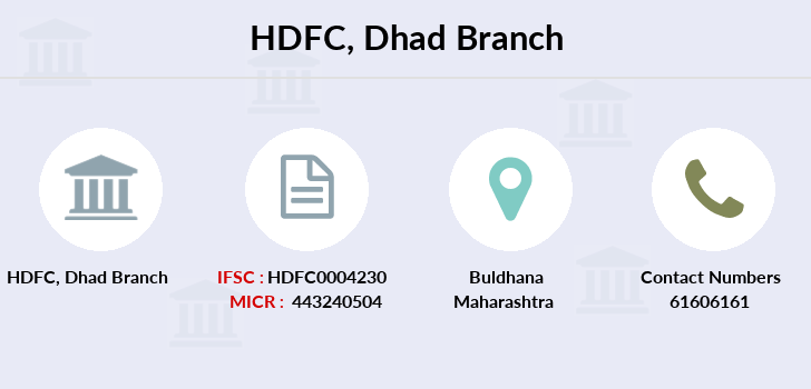 Hdfc-bank Dhad branch