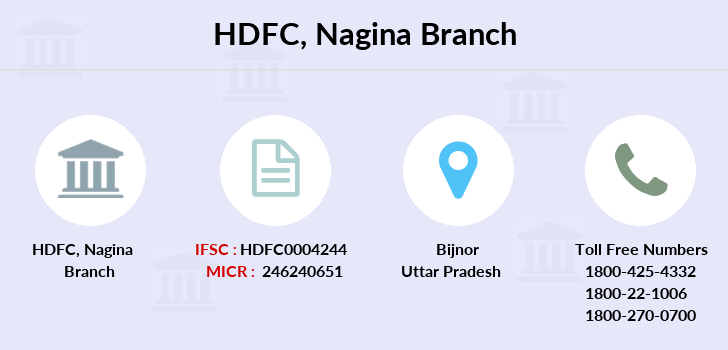 Hdfc-bank Nagina branch