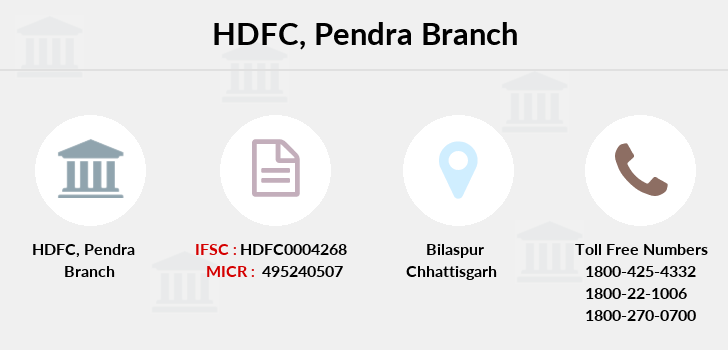 Hdfc-bank Pendra branch