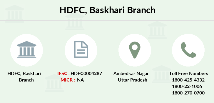 Hdfc-bank Baskhari branch