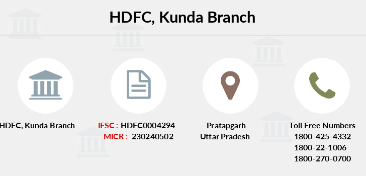 Hdfc-bank Kunda branch