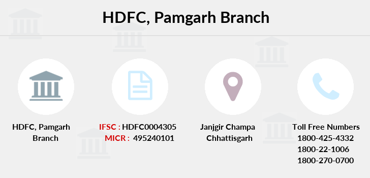 Hdfc-bank Pamgarh branch