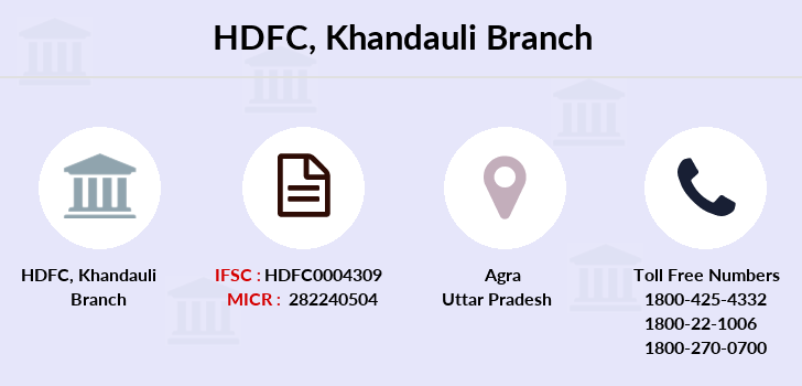 Hdfc-bank Khandauli branch