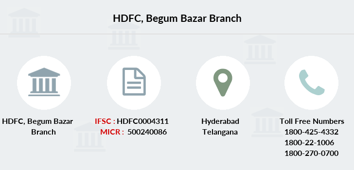 Hdfc-bank Begum-bazar branch