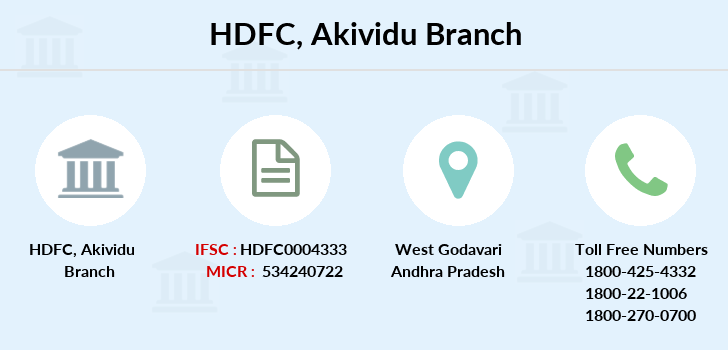 Hdfc-bank Akividu branch