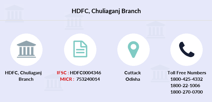 Hdfc-bank Chuliaganj branch