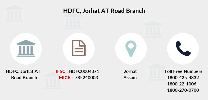 Hdfc-bank Jorhat-at-road branch