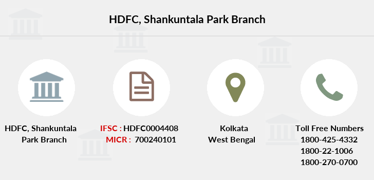 Hdfc-bank Shankuntala-park branch