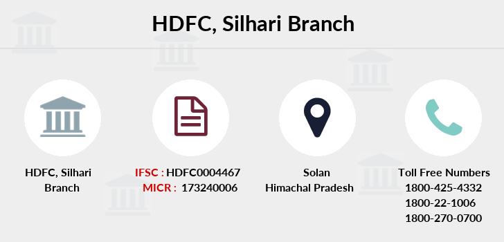 Hdfc-bank Silhari branch