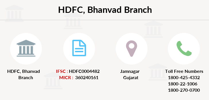 Hdfc-bank Bhanvad branch