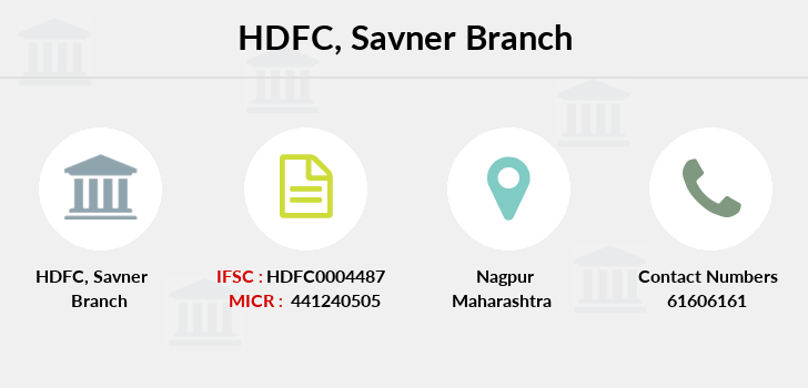 Hdfc-bank Savner branch