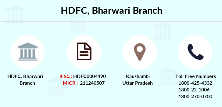 Hdfc-bank Bharwari branch