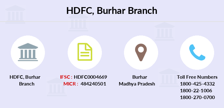 Hdfc-bank Burhar branch