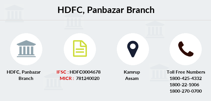 Hdfc-bank Panbazar branch