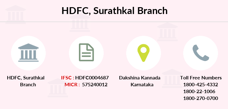 Hdfc-bank Surathkal branch