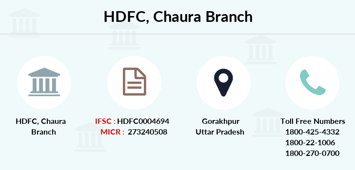Hdfc-bank Chaura branch