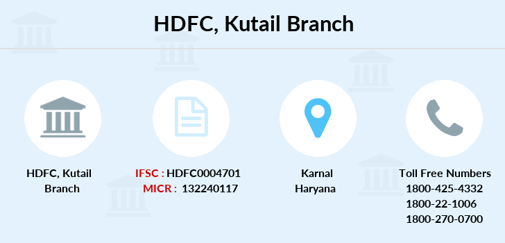 Hdfc-bank Kutail branch