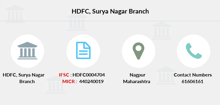 Hdfc-bank Surya-nagar branch