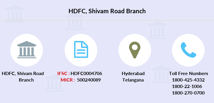 Hdfc-bank Shivam-road branch