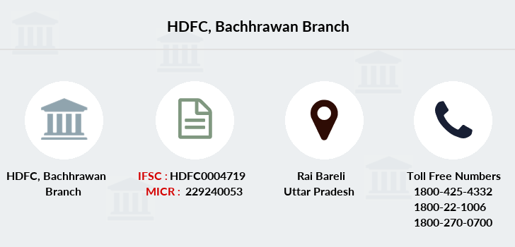 Hdfc-bank Bachhrawan branch