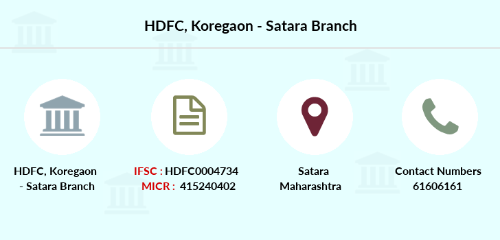 Hdfc-bank Koregaon-satara branch
