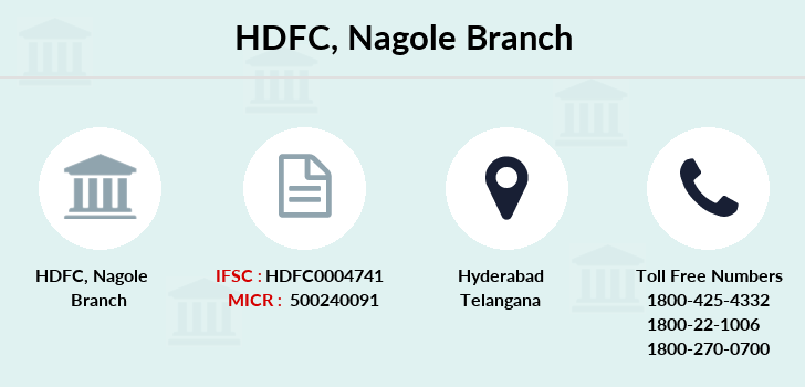 Hdfc-bank Nagole branch