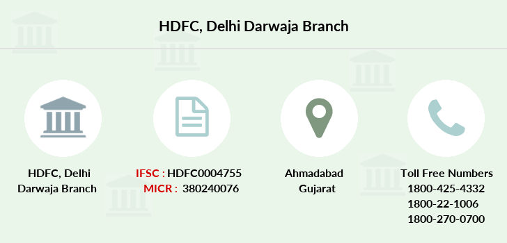 Hdfc-bank Delhi-darwaja branch