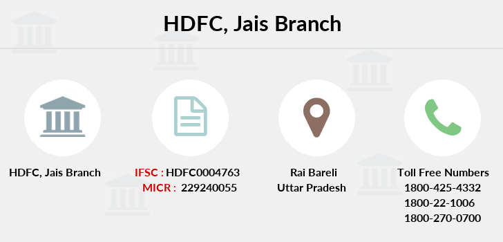 Hdfc-bank Jais branch