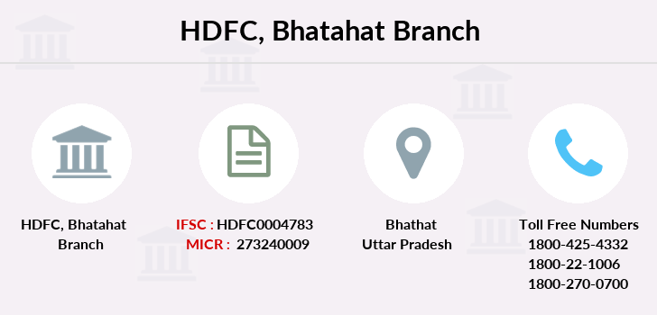 Hdfc-bank Bhatahat branch