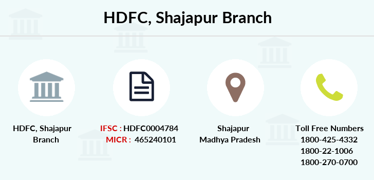 Hdfc-bank Shajapur branch