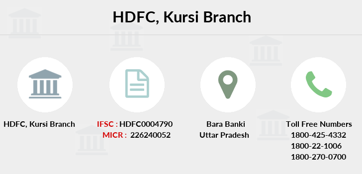 Hdfc-bank Kursi branch