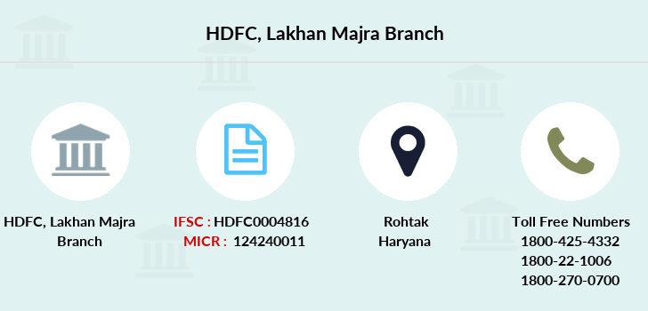 Hdfc-bank Lakhan-majra branch