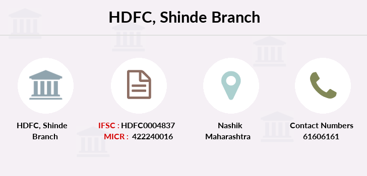 Hdfc-bank Shinde branch