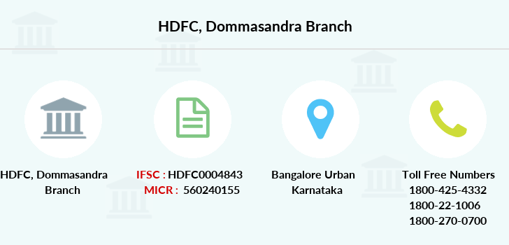 Hdfc-bank Dommasandra branch