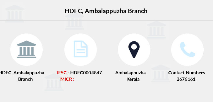 Hdfc-bank Ambalappuzha branch