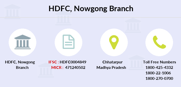 Hdfc-bank Nowgong branch