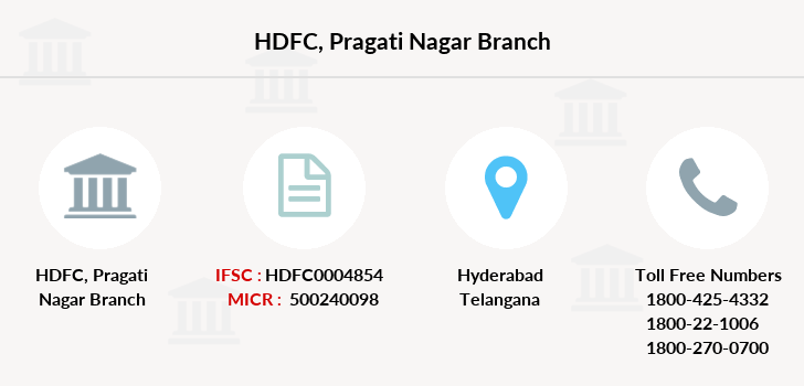 Hdfc-bank Pragati-nagar branch