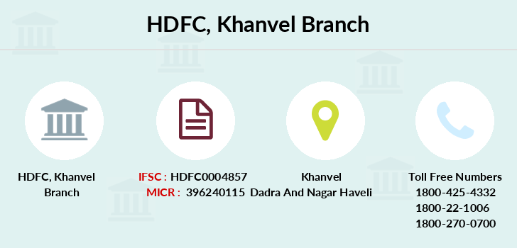 Hdfc-bank Khanvel branch